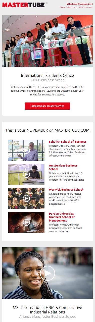 Videoletter November 2018